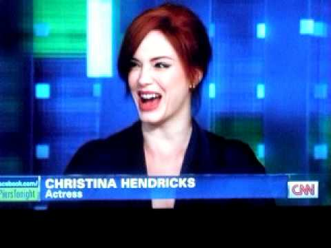 Christina Hendricks on Piers Morgan part one