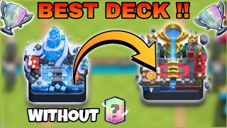 """Say No To Legendary card""-Best Deck!! Arena 8 PUSH TO Arena 10"