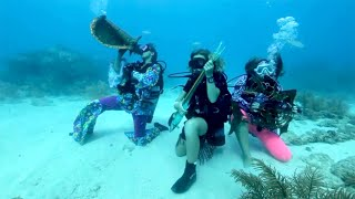 Hundreds of Divers Submerge at Underwater Music Festival in Florida