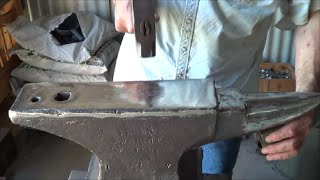 Blacksmithing - Do Magnets Reduce An Anvils Ring