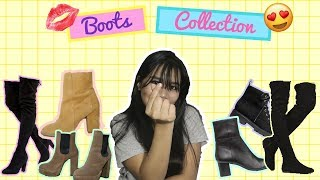 Shoe Collection 2017: BOOTS  (Philippines) | TRY-ON |  Anja Mendoza