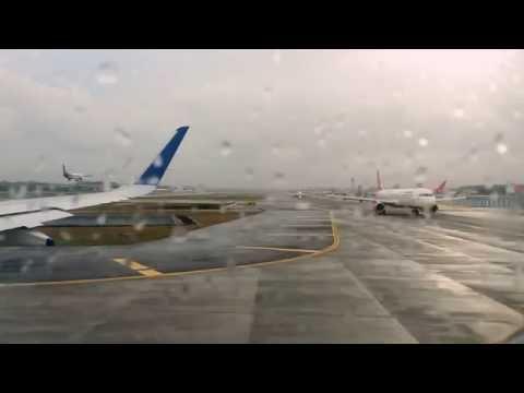 Take Off from Mumbai. IndiGo Airlines 6E- 321 (BOM-CCU)