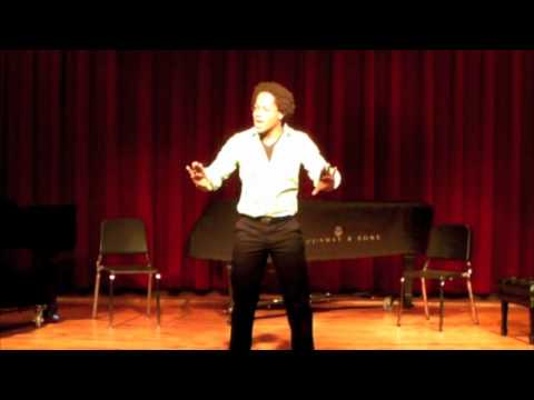 Deonte Warren - Belmont University Musical Theatre Senior Showcase 2010