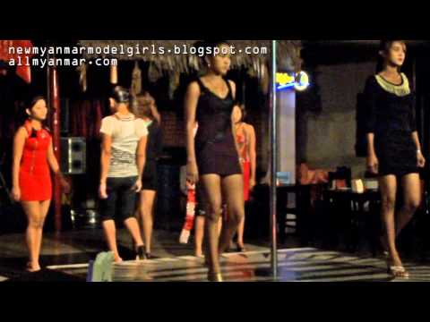 Myanmar Nightclub Girls video