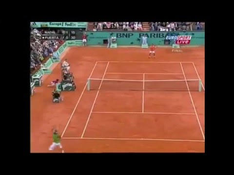 Roland Garros 2005: Nadal - Puerta (Final) Highlights