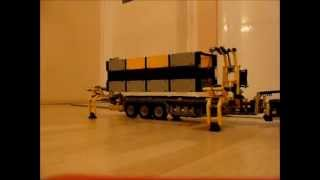 Lego Technic Combilift Container Lifter Prototype by dokludi