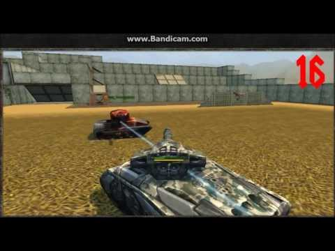 Tanki online Test server - Mammoth M6 VS Railgun M0