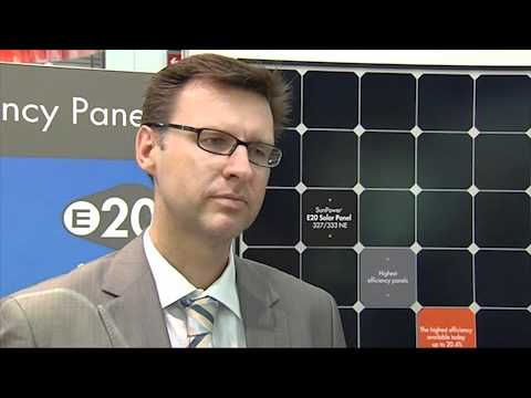 SunPower introduces world's most powerful solar module at Intersolar EU 2011
