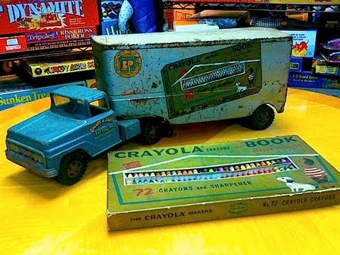 Tonka Truck / Crayola Prototype Rarest Crayola Collectible in Mike Mozart's Collection TheToyChannel