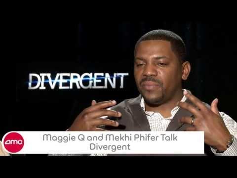 Maggie Q & Mekhi Phifer Talk DIVERGENT With AMC
