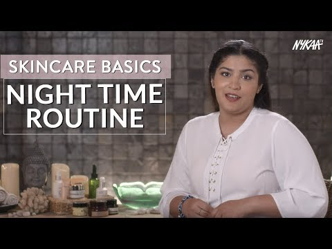 Skincare Basics: Night time Routine With Shreya + Giveaway