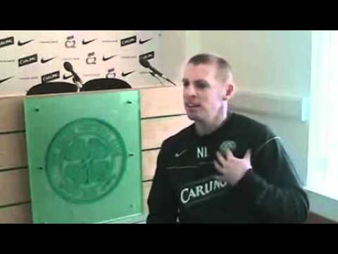 Neil Lennon Talks About Depression