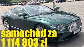 Luksus na kołach - Bentley Continental GT W12