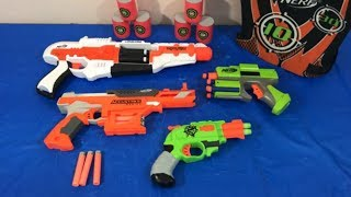 Box of Toys Toy Guns NERF Gun Toy Pistols Kids Fun