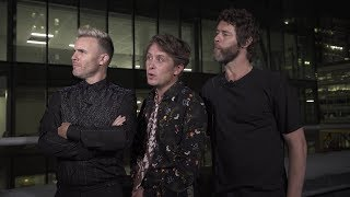 English pop group Take That join us on The Cafe