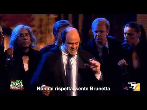'Il Bersani si Ripiglia' Canta Maurizio Crozza