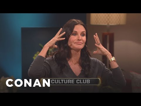 Courteney Cox Can't Remember Any 80s Bands