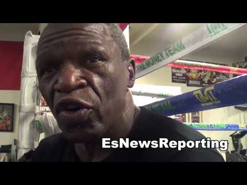 Floyd Mayweather sr why he wants to see Mayweather vs Amir Khan EsNews Boxing