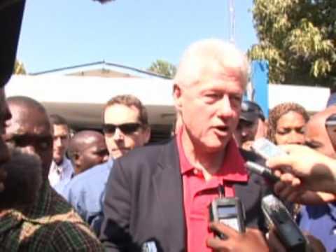 Haiti Earthquake: Special Envoy Bill Clinton in Haiti helping coordinate international quake relief