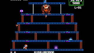 Donkey Kong for the Apple II