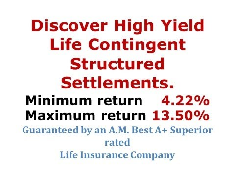 Discover a high yield alternative to Stocks, Mutual Funds, Bank CDs and Treasuries.