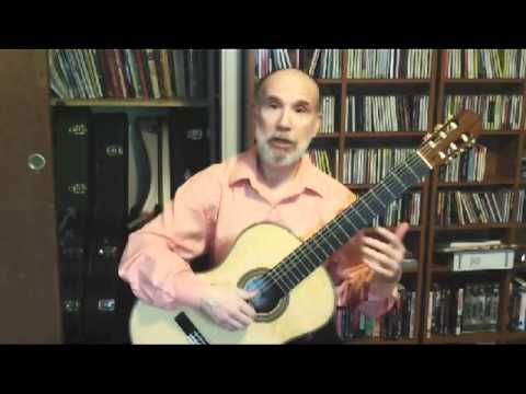 Classical Guitar TIps: Basic Arpeggios