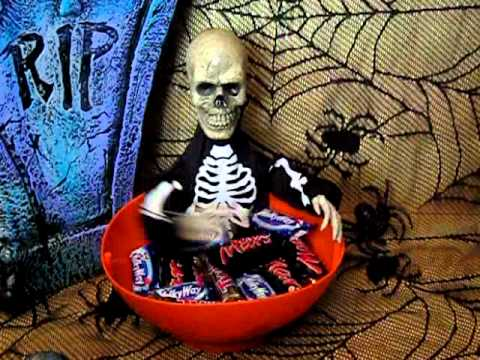 Talking Skull Dish Candy Bowl - Tanga