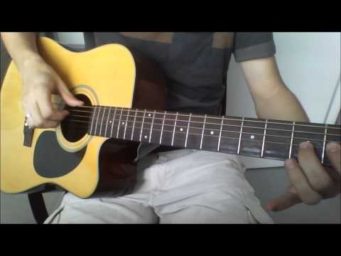 Pirates of the caribbean theme song - Acoustic guitar