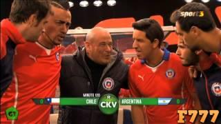 Parodia a la final Copa America | Chile Vs Argentina | Crackovia
