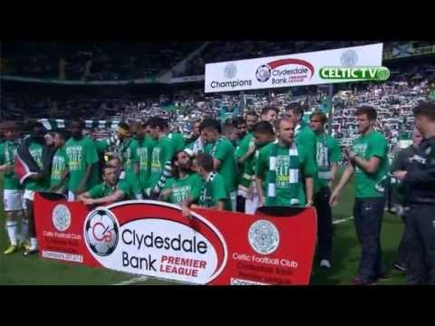 Celtic FC - Lap of Honour celebrations post match Inverness CT