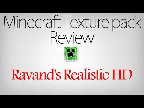 Minecraft Texture Pack Review part 26 - Ravand