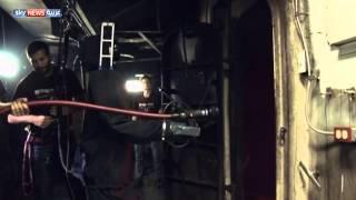 روبوت خاص لإطفاء حرائق السفن