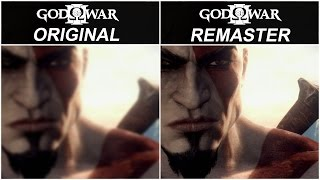 God of War III Remastered - PS3 vs PS4 Graphics Comparison FullHD 60fps