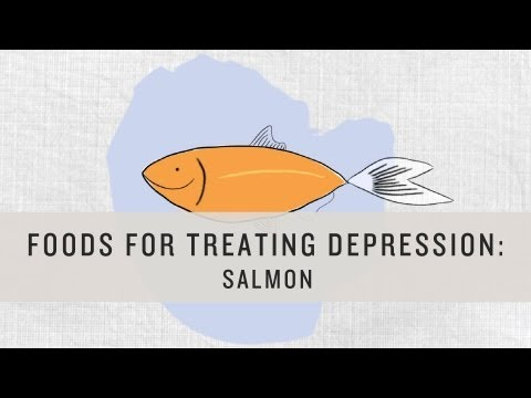 Foods for Treating Depression: Salmon