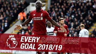 Every Sadio Mane goal from 2018-19 season | Cheeky back heels and moments of genius
