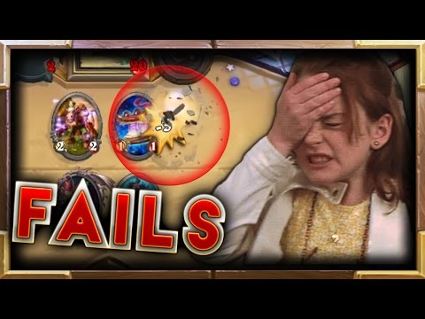 MISTAKES and FAIL Moments Ep.25   Hearthstone