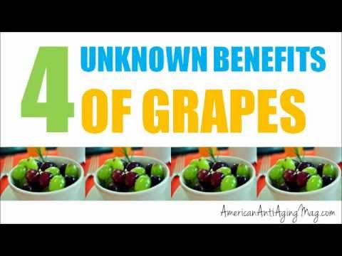 4 Unknown Benefits of Grapes