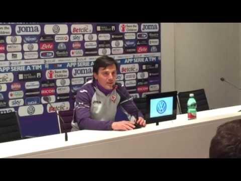 Conferenza stampa Vincenzo Montella alla vigilia della gara