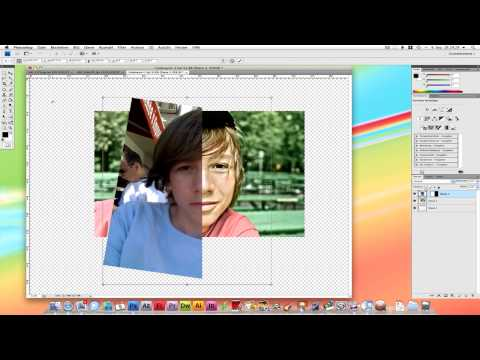 Photoshop: Gesichter verschmelzen Video