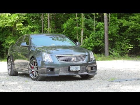 Cadillac CTS-V Review!
