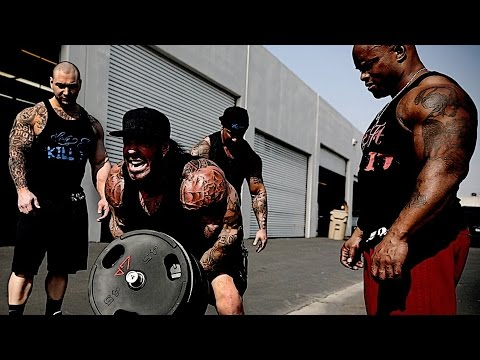 Downtown L.a. Back Alley Workout - Ghetto Style - Whatever It Takes - Rich Piana video