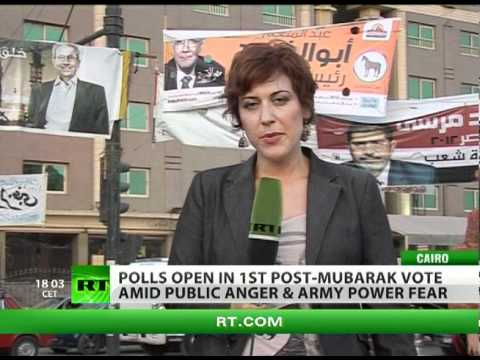 Fear and Voting in Cairo: Post-Mubarak polls open amid public anger