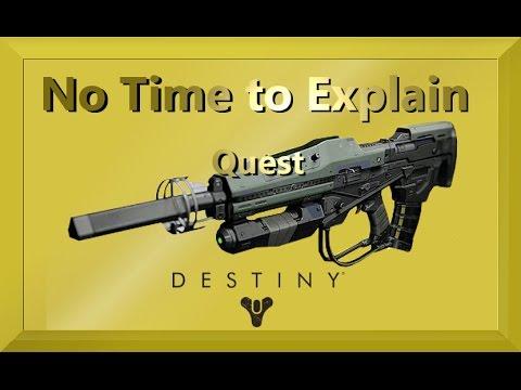 Keine Zeit Für Erklärungen | No Time To Explain Quest