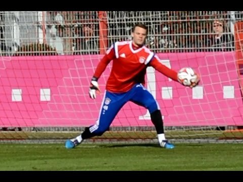 Manuel Neuer - Pepe Reina - Tom Starke - Ivan Lucic - Goalkeeper Training Torwarttraining