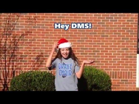 J.F. Drake Broadcasting Team signing off for Christmas Break