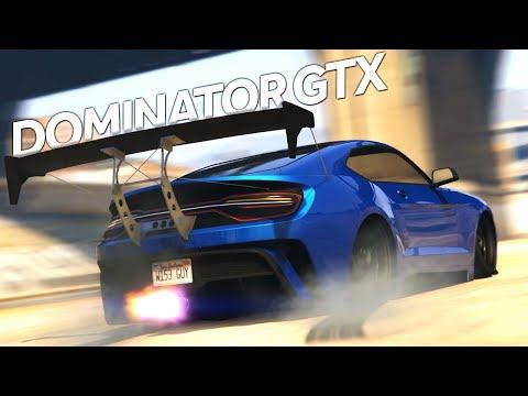 GTA 5 UNRELEASED MUSTANG! Vapid Dominator GTX Customization and Gameplay