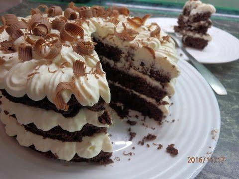 """Торт """"Вупи Пай"""", очень быстро и просто))) whoopie pie,"""
