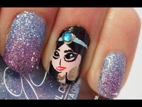 ♛Princess Jasmine Nails ♛