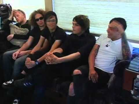 My Chemical Romance Interview - VMA Virgins
