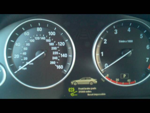Bmw Service Reset 5 Series F10 - YouTube